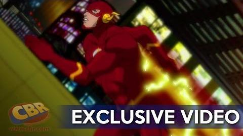 "Justice League vs. Teen Titans clip ""Legion of Doom Fight"""