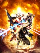 Justice League War Textless