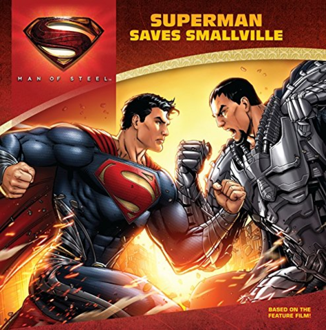 File:Man of Steel Superman Saves Smallville cover.png