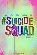 Suicide Squad lollipop poster