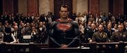 Superman stands in court
