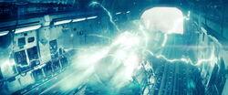 Kal-El's ship phantom drive activates