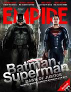 Empire - Batman v Superman Dawn of Justice September 2015 variant cover - Batman and Superman