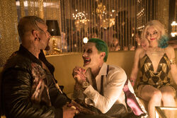 Monster T meets with the Joker and Harley Quinn