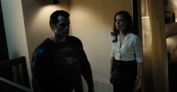 Clark tells Lois his doubts