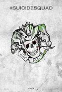 Suicide Squad tattoo poster - Joker