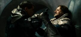 Jor-El fighting Zod