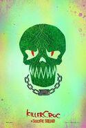 Suicide Squad character poster - Killer Croc