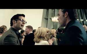 Bruce Wayne meets Clark Kent