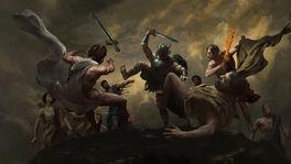 Ares Kills Gods
