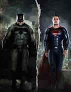 Empire - Batman v Superman Dawn of Justice textless September 2015 variant cover - Batman and Superman