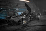Batmobile concept artwork - Justice League