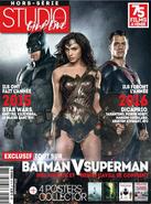 Studio Ciné Live - Batman v Superman Dawn of Justice cover