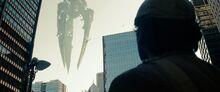 Black Zero appears over Metropolis