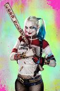 Harley Quinn Good Night Poster