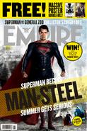 Empire - Man of Steel June 2013 variant cover - Superman 1