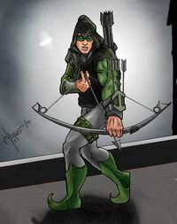 Green Arrow Black Arrow by GeoPhreak