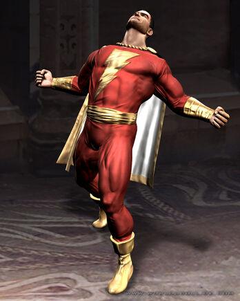 Shazam Cap Marvel