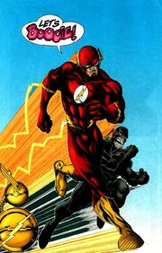 Wally West Black Flash