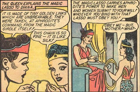 Hippolytta wonder woman magic lasso