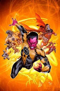 Sinestro Corps 01