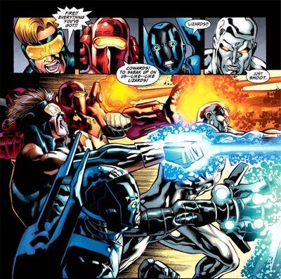 Justice League International Energy Blast