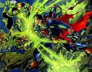 Green Lanterns Infinite Crisis 01