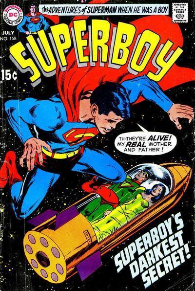 Superboy jor-el e lara