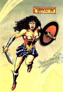 Hippolyta Wonder Woman 001
