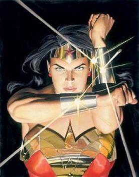 Wonder woman blocking