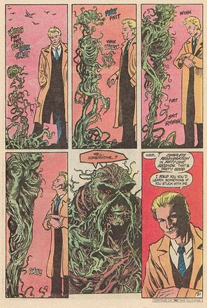 Swamp Thing Constantine