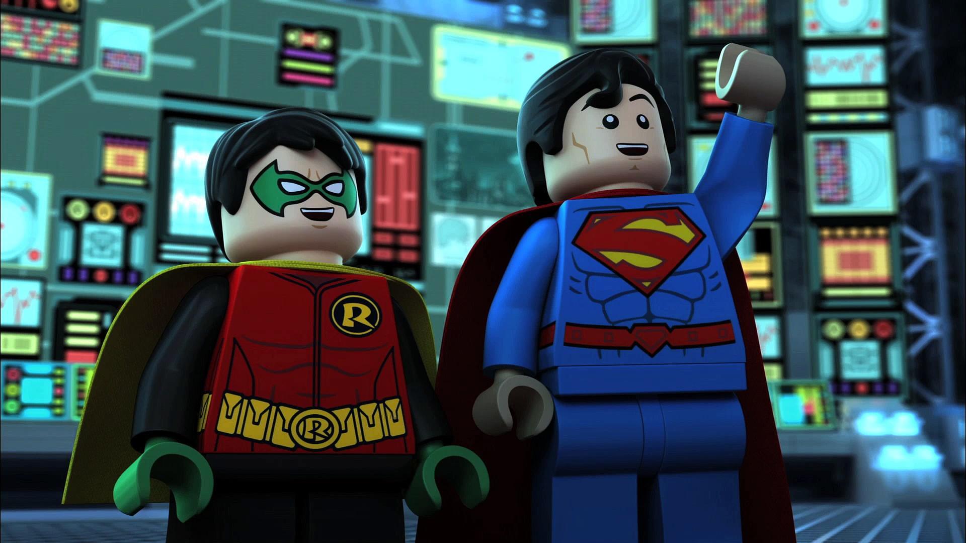 video exclusive lego dc comics superheroes justice league gotham