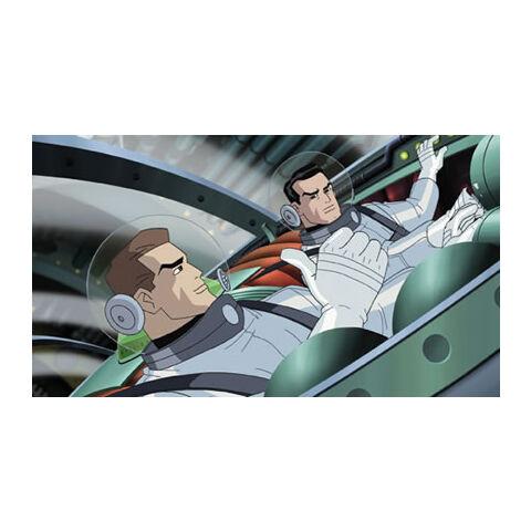 Hal Jordan and Rick Flagg.