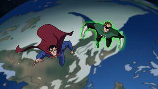 Superman and Green Lantern