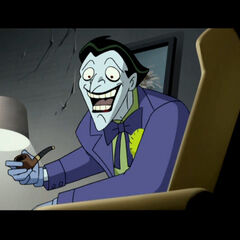 Joker during his last fight with Batman.