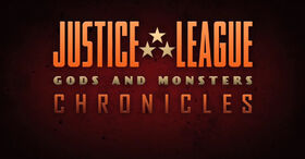 Justice League Gods and Monsters Chronicles logo