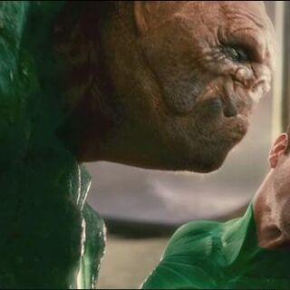 Kilowog and Hal Jordan.