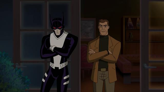 File:Batman & Magnus JLG&M .png