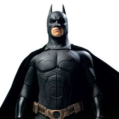 Bruce's first Batsuit.