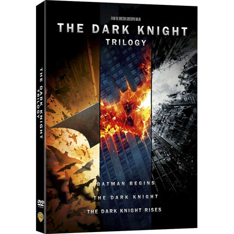 The Dark Knight Trilogy dvd Boxset.