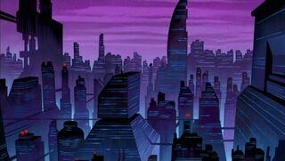 Future Gotham City (DCAU)