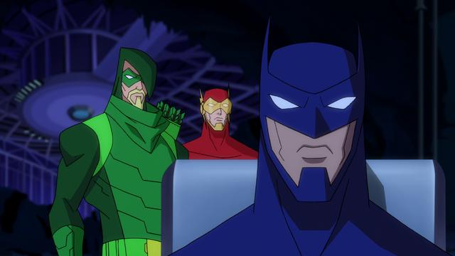 File:Green Arrow Flash Batman BMUAI 1.png