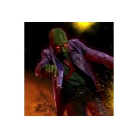 Martian Manhunter's true form.