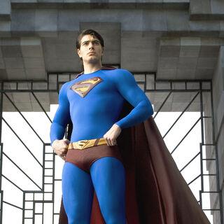 Kal's Superman suit.