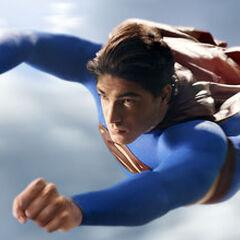 Superman flying in <i><a href=