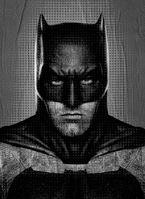 Bvs Batman-textless promotional poster