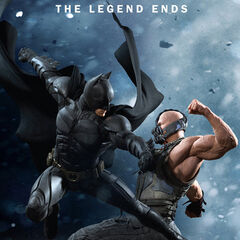 Batman vs. Bane Poster.