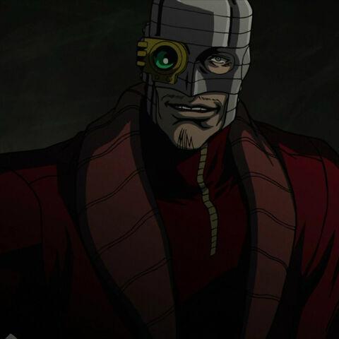 Deadshot faces Batman.