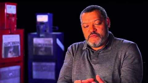 Man of Steel Interview - Laurence Fishburne