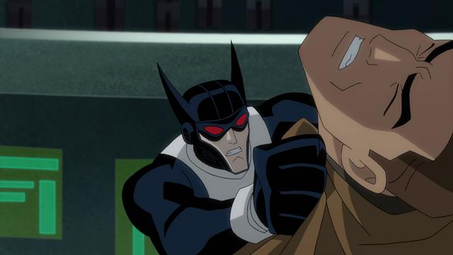 File:Batman takes on Magnus JLG&M .png